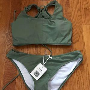 CupShe high waisted bikini